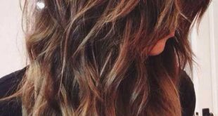 20 Layered Long Hairstyles, die jede Dame sehen muss: # 19