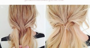 Vingle - DIY Rose Bun Haar Tutorials - Hochsteckfrisuren