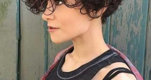Kurze lockige Frisuren 9 #curly #hairstyle #hairstyles #hairstyles9 #short