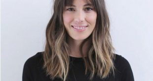 42 Cool-Girl Frisuren mit Pony - theFashionSpot